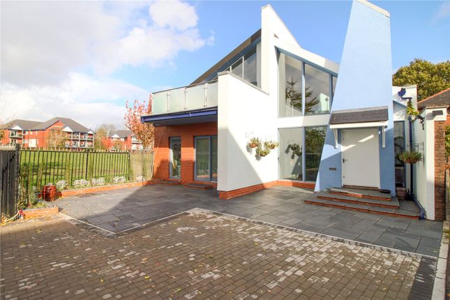 Thumbnail Detached house for sale in Cyncoed Road, Cardiff