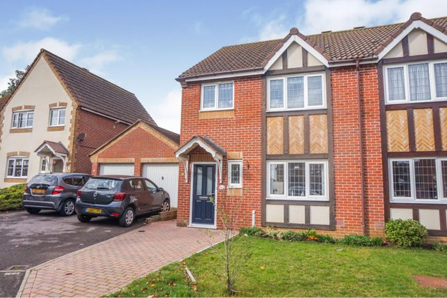 Thumbnail Semi-detached house for sale in Ensign Close, Cowes