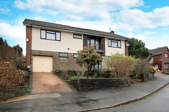 Thumbnail Detached house for sale in Pentwyn Isaf, Caerphilly