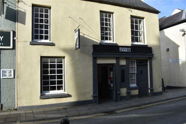 Thumbnail Pub/bar to let in King Street, Carmarthen