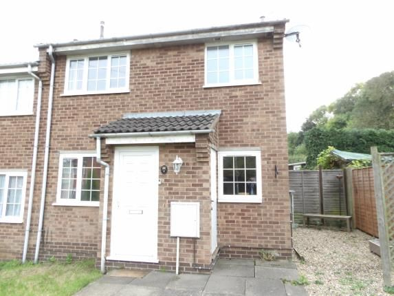 Thumbnail End terrace house for sale in Durrell Close, Loughborough, Leicestershire