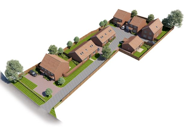 Thumbnail Semi-detached house for sale in Long Street, Great Ellingham, Attleborough