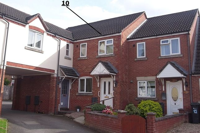 Thumbnail Terraced house for sale in Northdown Close, Ledbury