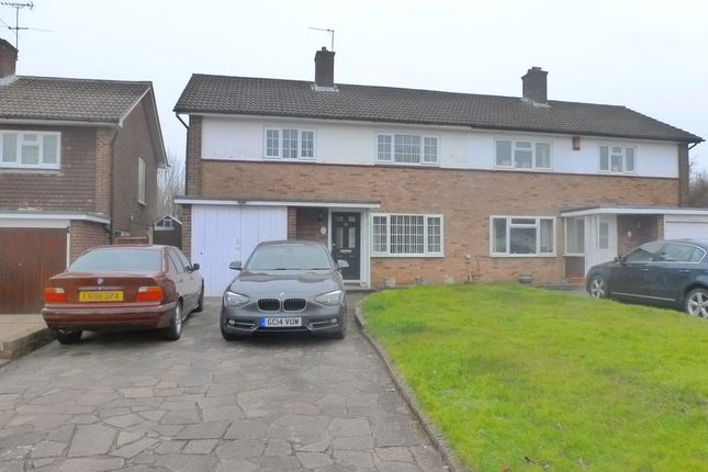 Thumbnail Semi-detached house for sale in Falconwood Road, Selsdon, South Croydon, Surrey