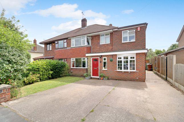 Thumbnail Semi-detached house for sale in Silver Ridge, Barlaston, Stoke-On-Trent