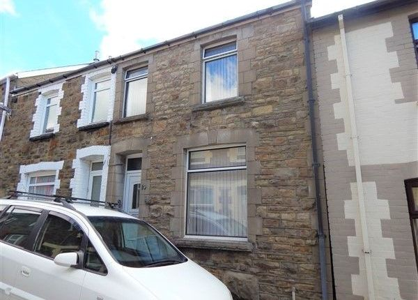 Thumbnail Terraced house to rent in Morgan Street, Abertillery