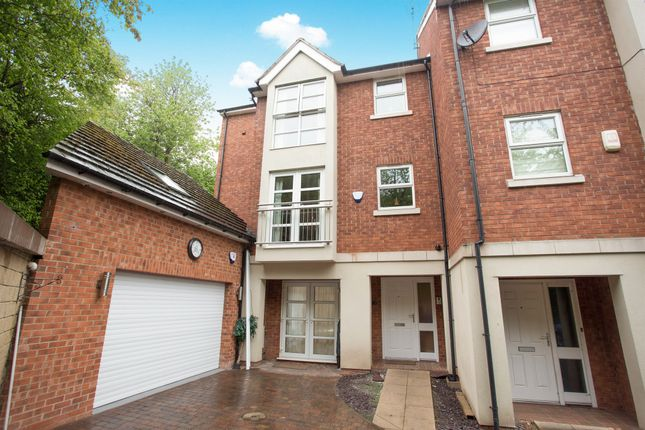 Thumbnail Town house for sale in Church Lane North, Darley Abbey, Derby