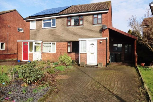 Thumbnail Semi-detached house to rent in Gilling Avenue, Garforth, Leeds