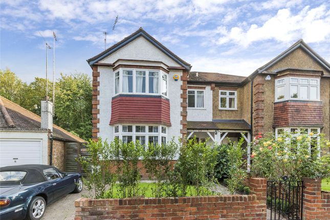 Thumbnail Semi-detached house to rent in Claremont Road, Highgate, London