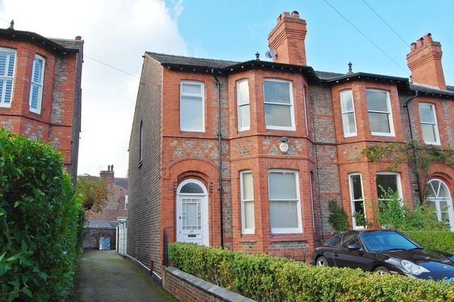 Thumbnail End terrace house to rent in Albert Road, Hale, Altrincham