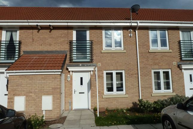 Thumbnail Terraced house to rent in Magnus Court, North Hykeham, Lincoln