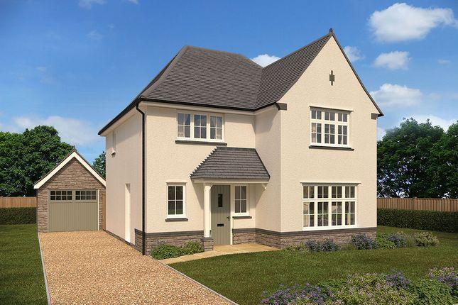"Thumbnail Detached house for sale in ""Cambridge"" at Crediton Road, Okehampton"