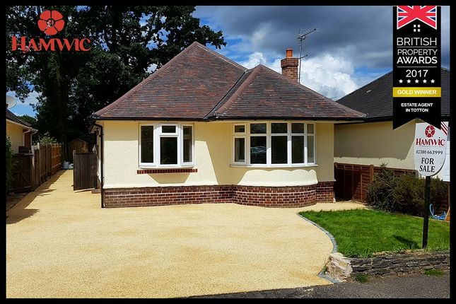 3 bed detached bungalow for sale in Copsewood Road, Southampton