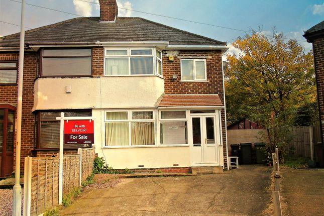 3 bed semi-detached house for sale in Inkerman Grove, Wolverhampton