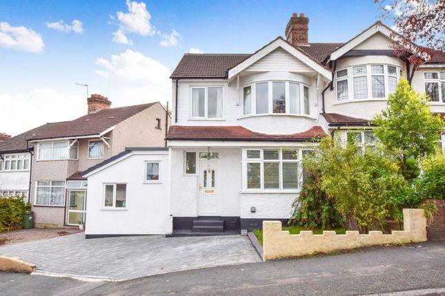 Thumbnail Semi-detached house for sale in Harrow Road, Carshalton