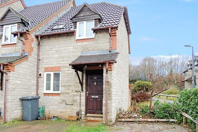 Thumbnail End terrace house to rent in Muirfield, Warmley, Bristol