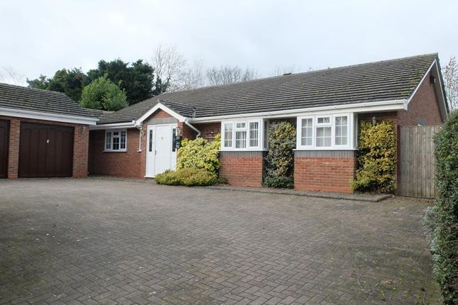 Thumbnail Bungalow for sale in Fromes Hill, Ledbury, Herefordshire