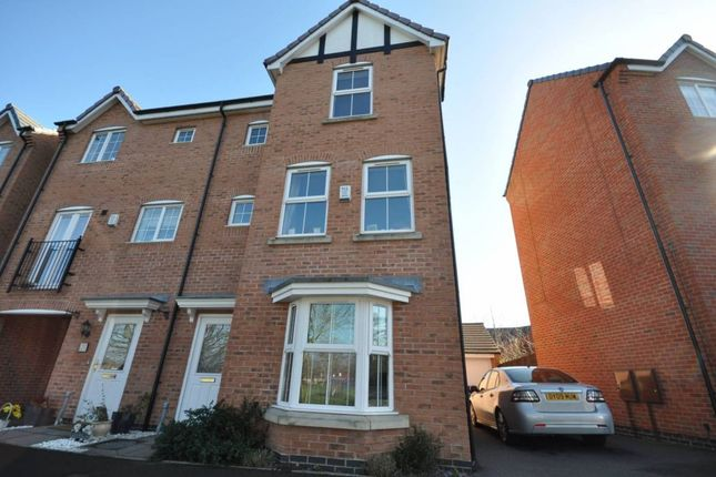 Thumbnail Detached house to rent in Clough Drive, Stretton, Burton On Trent