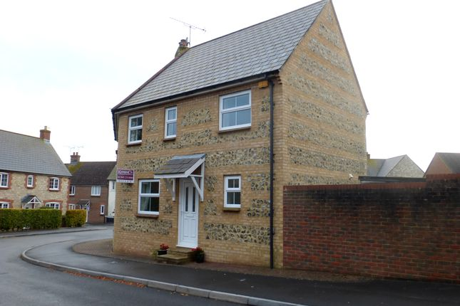 Thumbnail End terrace house to rent in Garland Crescent, Dorchester