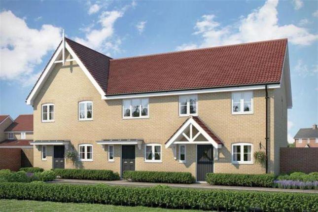 Thumbnail End terrace house for sale in Fornham All Saints, Bury St. Edmunds