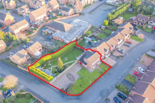 Thumbnail Detached house for sale in Tintern Way, Bedworth