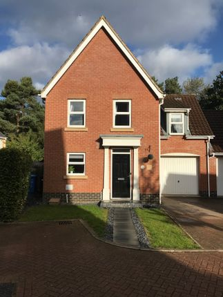 Thumbnail Detached house for sale in Whitley Close, Norwich