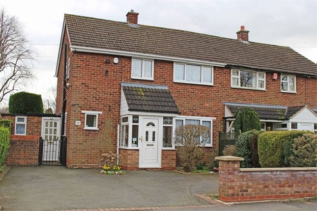Thumbnail Semi-detached house for sale in Hill Top Avenue, Tamworth, Staffordshire