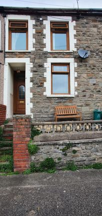 Thumbnail Terraced house to rent in Castle Street, Treorchy, Rhondda, Cynon, Taff.