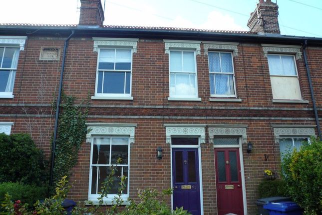 2 bed terraced house to rent in Queens Road, Bury St. Edmunds IP33