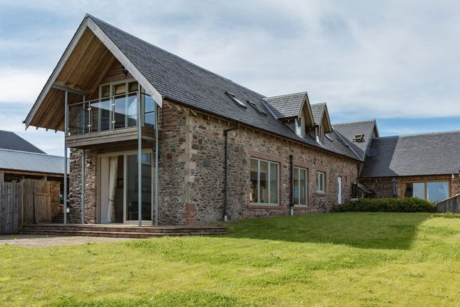 Thumbnail Barn conversion for sale in The Longbarn, Huntshaw, Earlston
