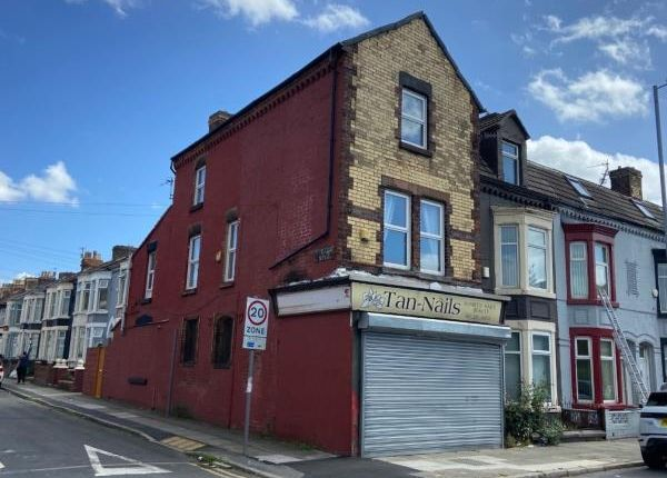 Thumbnail Commercial property for sale in 84A Hawthorne Road/2A Downing Road, Bootle, Merseyside