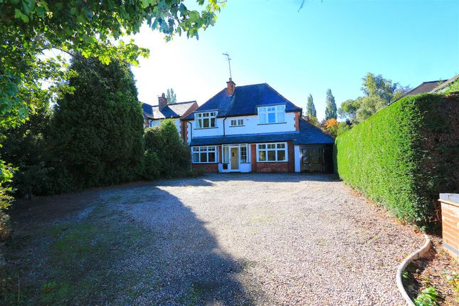 Thumbnail Detached house for sale in Kirby Lane, Kirby Muxloe, Leicester