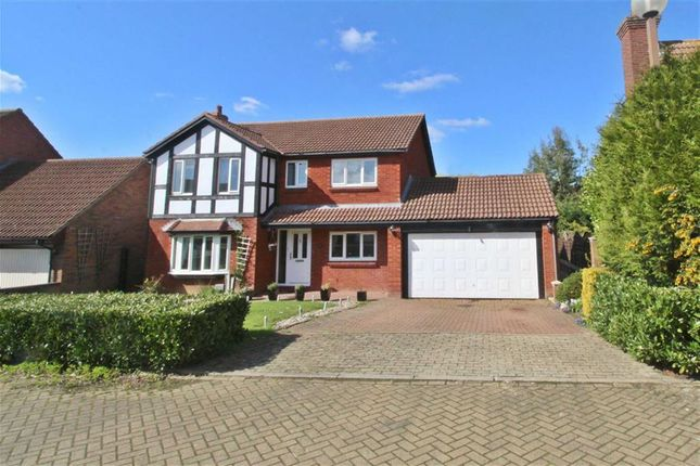 Thumbnail Detached house for sale in Barkestone Close, Emerson Valley, Milton Keynes