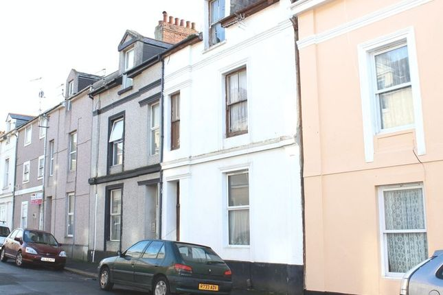 Thumbnail Terraced house for sale in Wolsdon Street, Plymouth