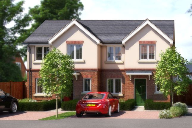 Thumbnail Semi-detached house for sale in Plot 4, St Annes Mews, Bridgeman Drive, Windsor