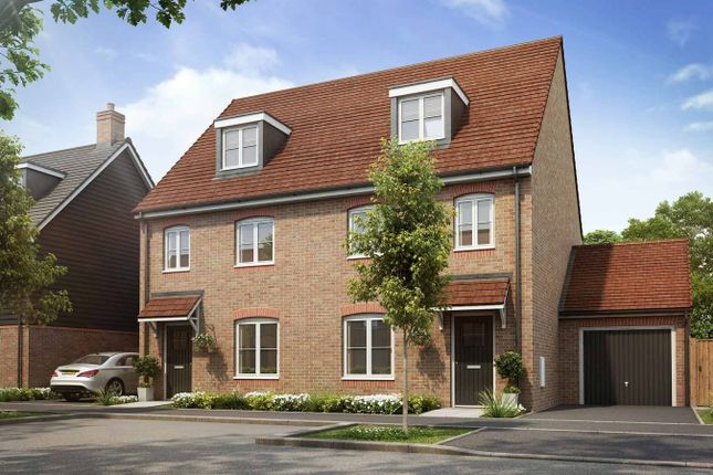 Thumbnail Semi-detached house for sale in The Croften G, Harwell