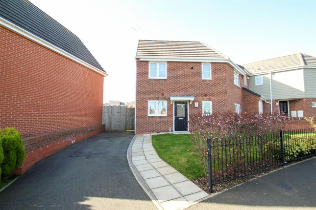Thumbnail Semi-detached house for sale in Cross Street, Weston Coyney, Stoke-On-Trent