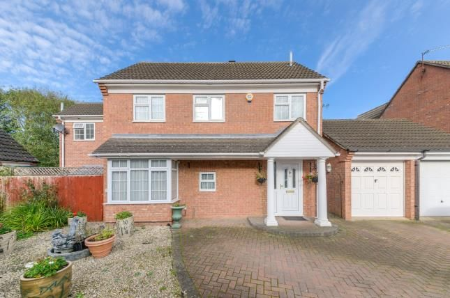 Thumbnail Detached house for sale in Denton Close, Kempston, Bedford, Bedfordshire