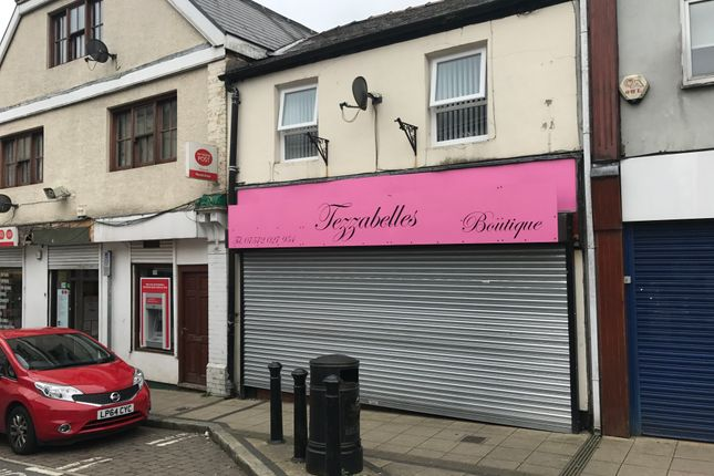 Retail premises to let in Beaufort Street, Brynmawr