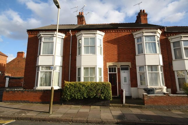 Thumbnail Terraced house for sale in Wilberforce Road, Leicester