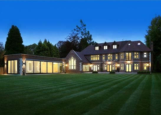Thumbnail Detached house for sale in Burkes Road, Beaconsfield, Buckinghamshire