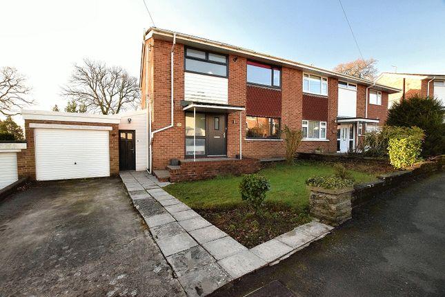 Thumbnail Semi-detached house for sale in Plas-Y-Delyn, Lisvane, Cardiff.