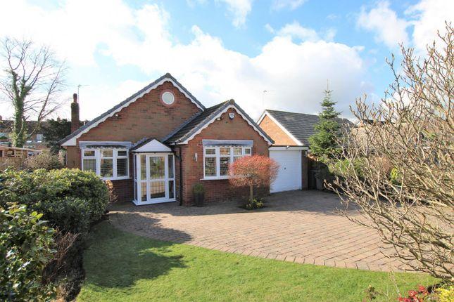 Thumbnail Detached bungalow for sale in Longacres Road, Hale Barns, Altrincham