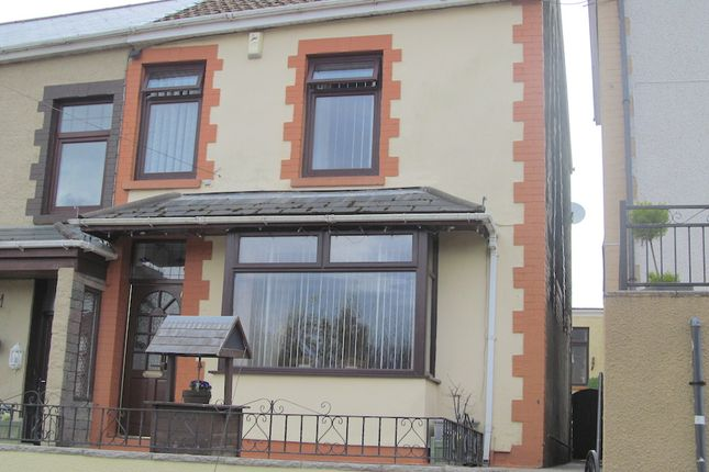 Thumbnail Semi-detached house for sale in Penygraig CF40, Penygraig,