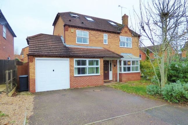 Thumbnail Detached house for sale in Wickery Dene, Wootton, Northampton