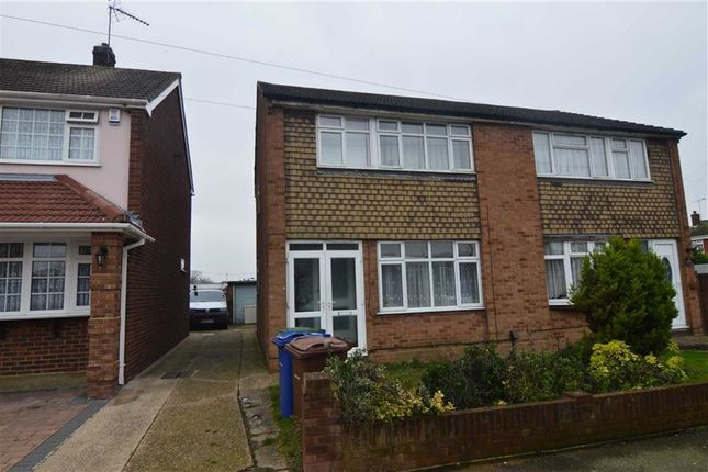 Thumbnail Semi-detached house for sale in Anthony Drive, Stanford-Le-Hope, Essex