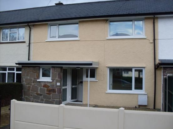 Thumbnail Terraced house to rent in The Avenue, Govilon, Abergavenny, Monmouthshire