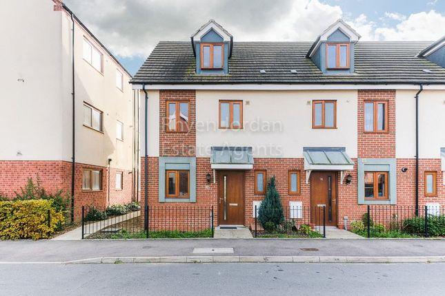 3 bed end terrace house for sale in Poppy Avenue, Broughton, Milton Keynes
