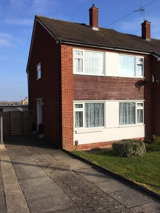 Thumbnail Semi-detached house to rent in Evans Road, Rugby, Warwickshire