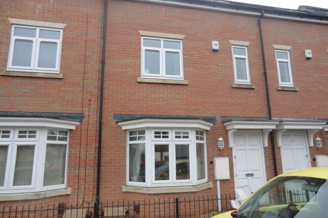 Thumbnail 3 bedroom terraced house to rent in Brunswick Mews, Tachbrook Street, Leamington Spa